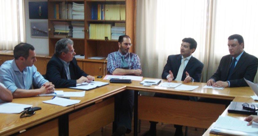 Συνάντηση ΕΤΕΚ με Υπουργό Συγκοινωνιών και Έργων