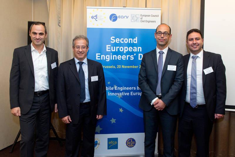 Το ΕΤΕΚ στη Γενική Συνέλευση του Ευρωπαϊκού Συμβουλίου Τεχνικών Επιμελητηρίων
