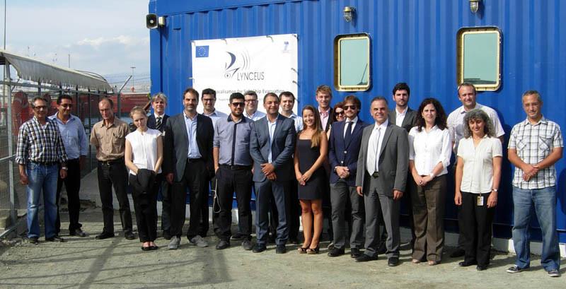 Συνάντηση ανασκόπησης προόδου των εργασιών του ευρωπαϊκού προγράμματος (fp7) Lynceus