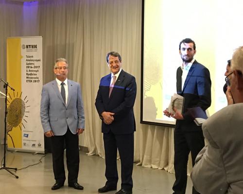 Στον Αντώνη Κουντούρη το Βραβείο Μηχανικής ΕΤΕΚ 2017